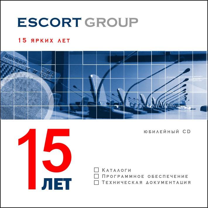 Escort Group. Дизайн обложки и наката компакт-диска