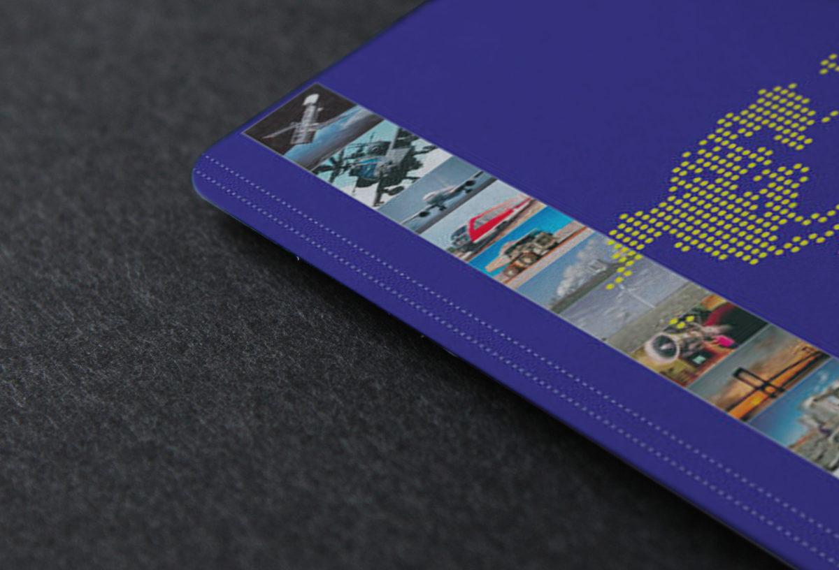 Дизайн фирменной папки