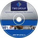 TWE. Дизайн компакт-диска