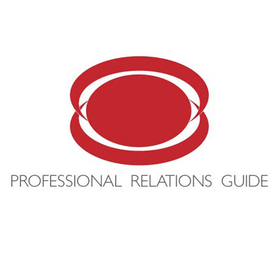 Дизайн логотипа для проекта Professional Relations Guide