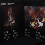 Volkhonka Fine Arts Centre. Дизайн буклета для художественной выставки.