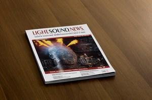 верстка журнала LightSoundNews