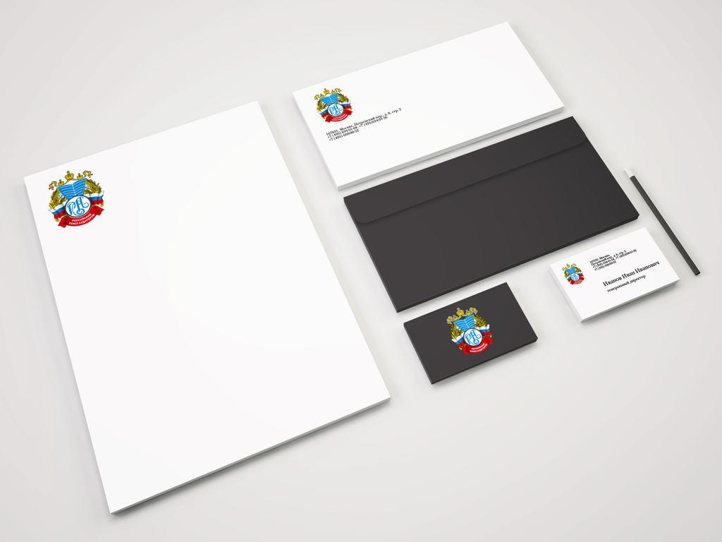 редизайн логотипа Российского союза аудиторов