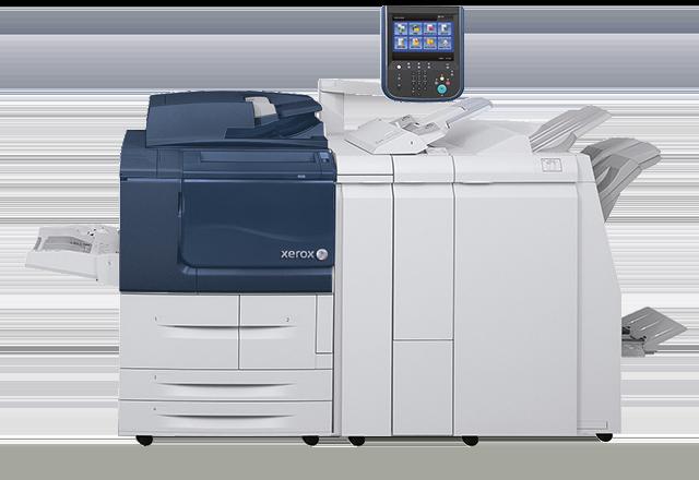 Внешний вид цифрового принтера