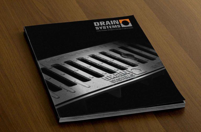 Верстка и дизайн каталога продукции систем водоотвода и дренажа