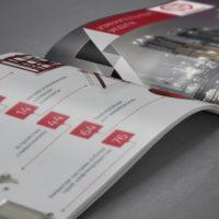 верстка буклета для компании Tauber