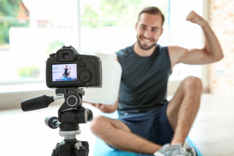 видеосъемка роликов для спортклубов и фитнес-центров