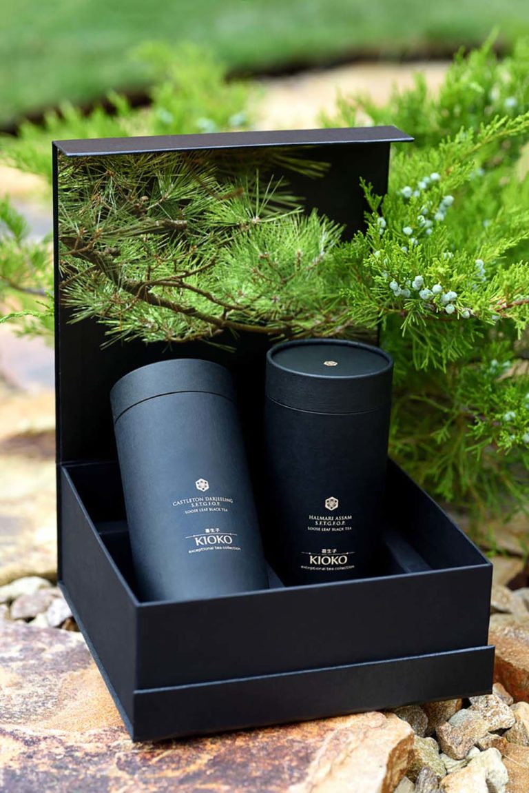 фотографии flat lay для япнского премиального чая Kioko