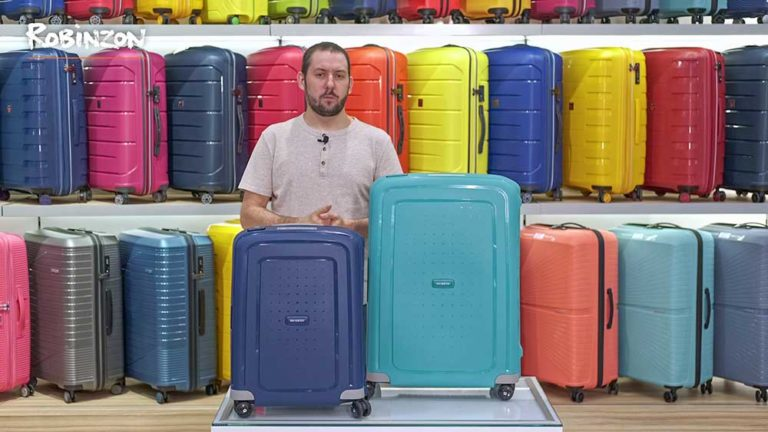 Съемка и монтаж обзорного видеоролика о чемоданах