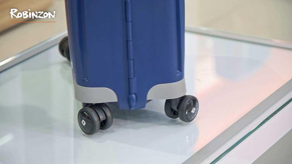 Robinzon. Видеосъемка и монтаж обзорного видеоролика-интервью о достоинствах чемоданов Samsonite S'cure