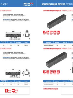 дизайн каталога Drain Systems цена